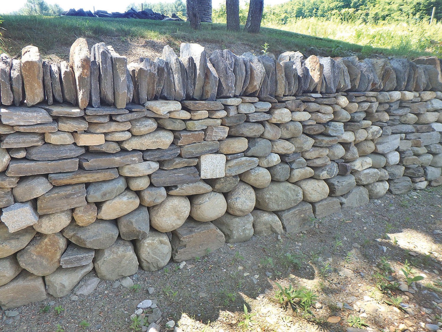 Best ideas about DIY Stone Wall . Save or Pin Henry Homeyer Tips for building a stone retaining wall Now.