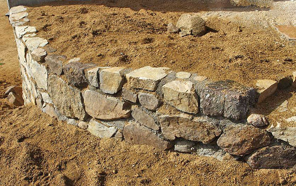 Best ideas about DIY Stone Wall . Save or Pin DIY Garden Retaining Walls Now.