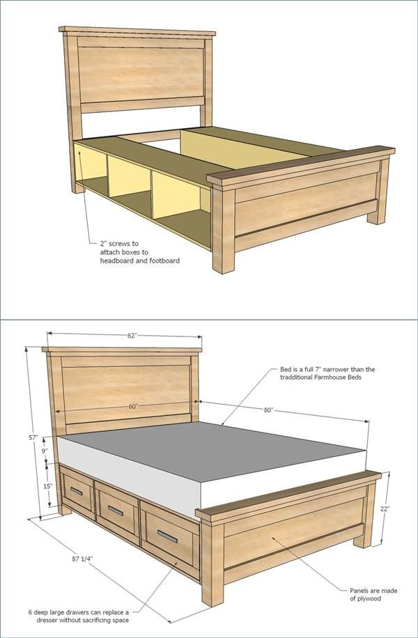 Best ideas about DIY Storage Bed Plans . Save or Pin 4980 best Creative Ideas images on Pinterest Now.