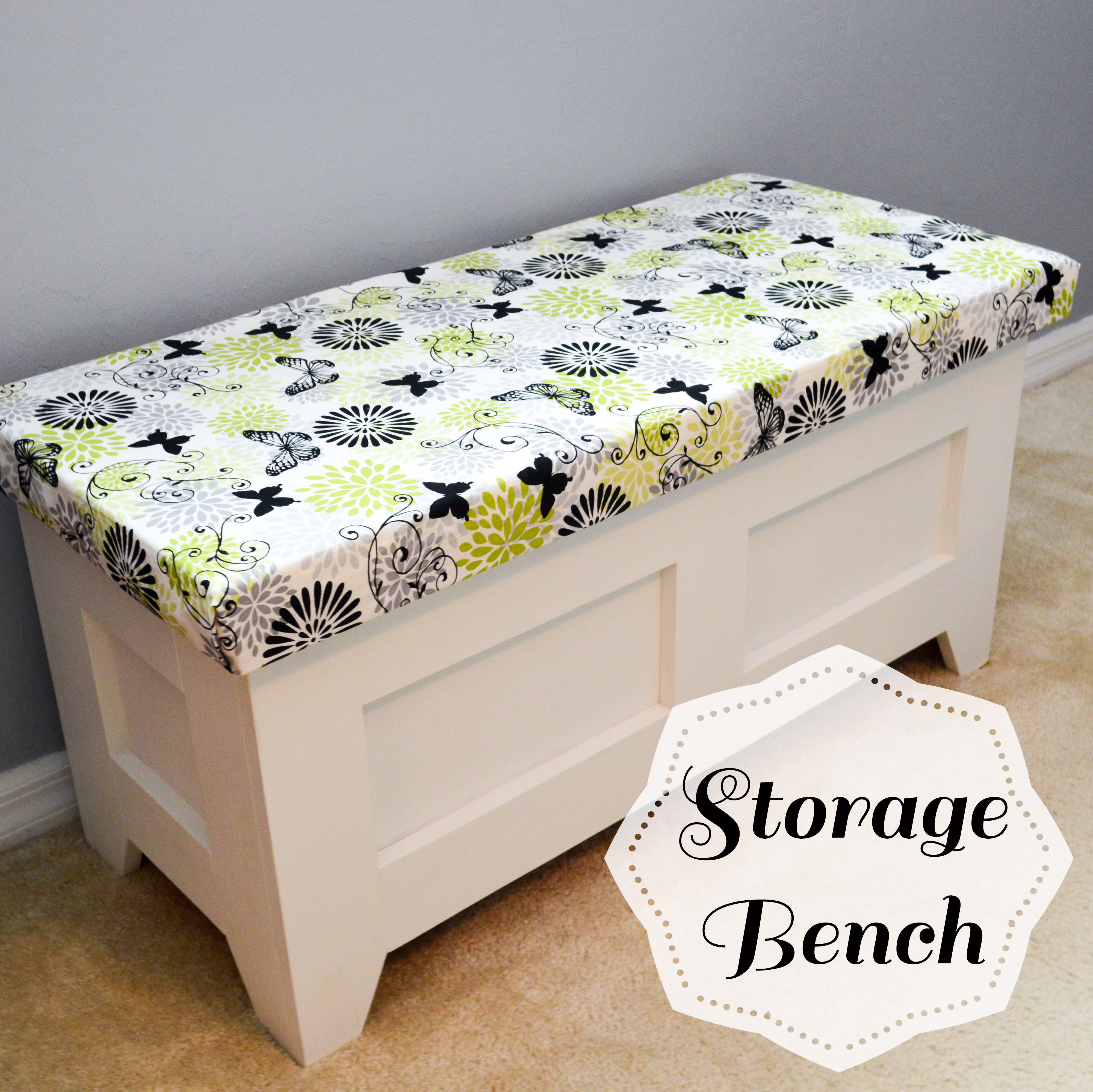 Best ideas about DIY Storage Bench . Save or Pin DIY Storage Bench • Better When Built Now.
