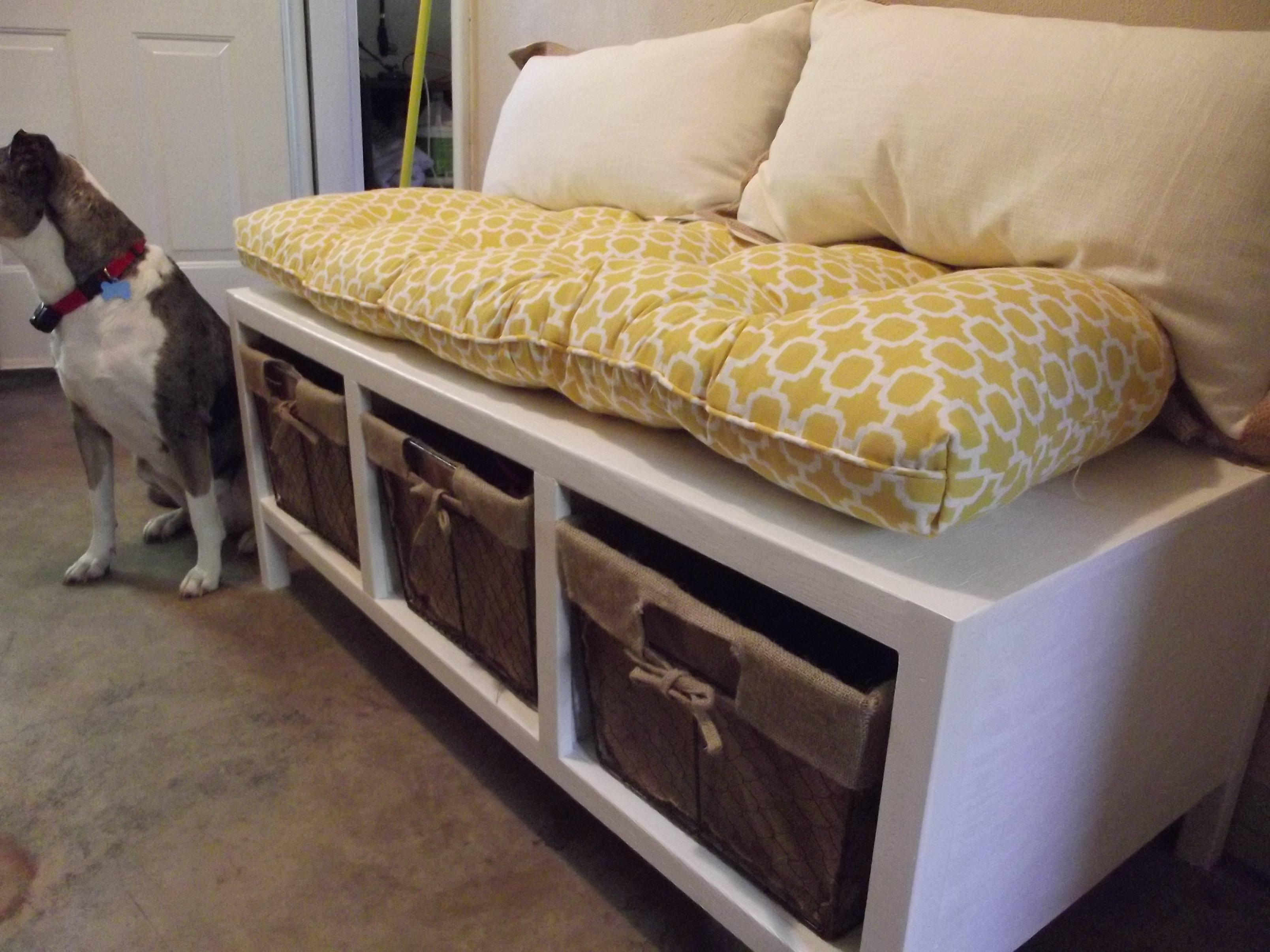 Best ideas about DIY Storage Bench . Save or Pin Ana White Now.