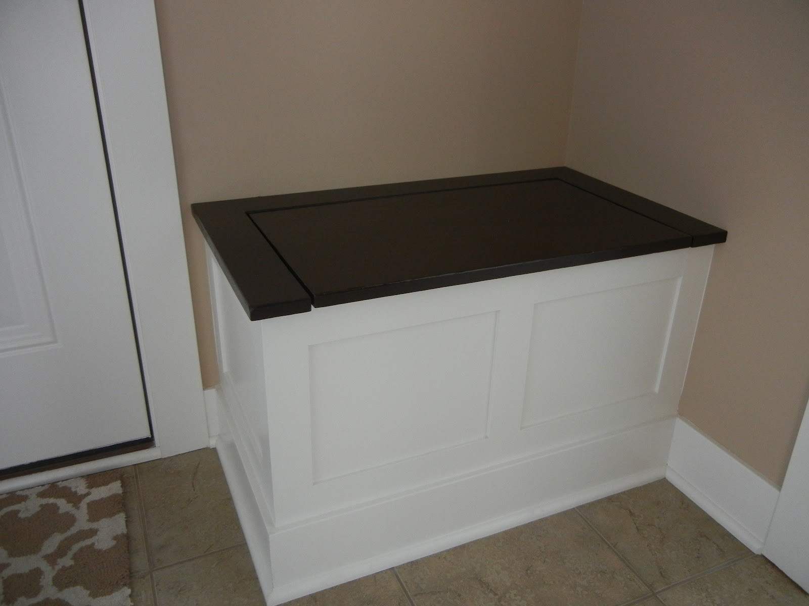 Best ideas about DIY Storage Bench . Save or Pin Hammers and High Heels Project Feature Holly & Brian s Now.