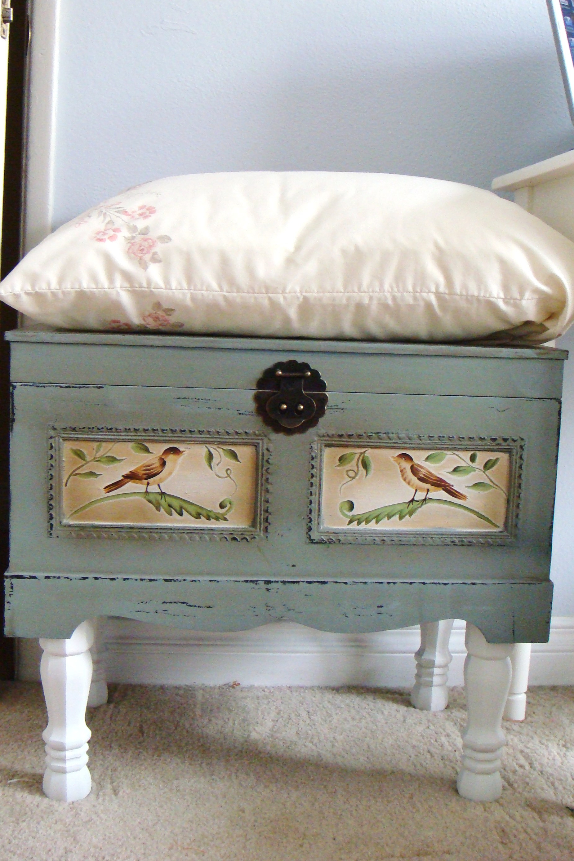 Best ideas about DIY Storage Bench . Save or Pin Simple DIY Storage Bench Now.