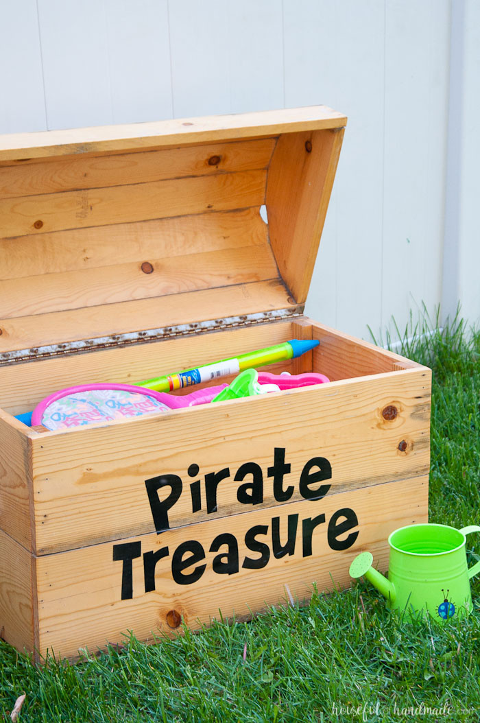 Best ideas about DIY Storage Chest . Save or Pin DIY Treasure Chest Toy Box Houseful of Handmade Now.