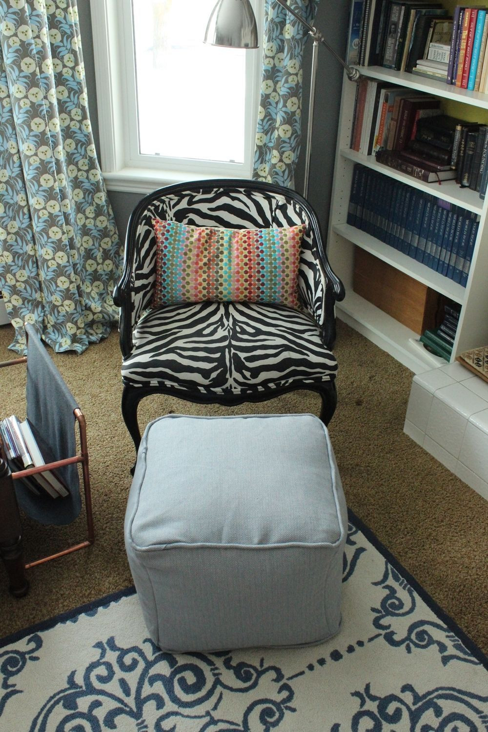 Best ideas about DIY Storage Ottoman Cube . Save or Pin DIY Pouf Ottoman Cube Now.