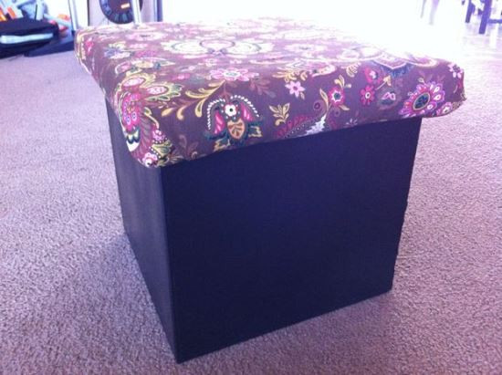 Best ideas about DIY Storage Ottoman Cube . Save or Pin 50 Creative DIY Ottoman Ideas Now.