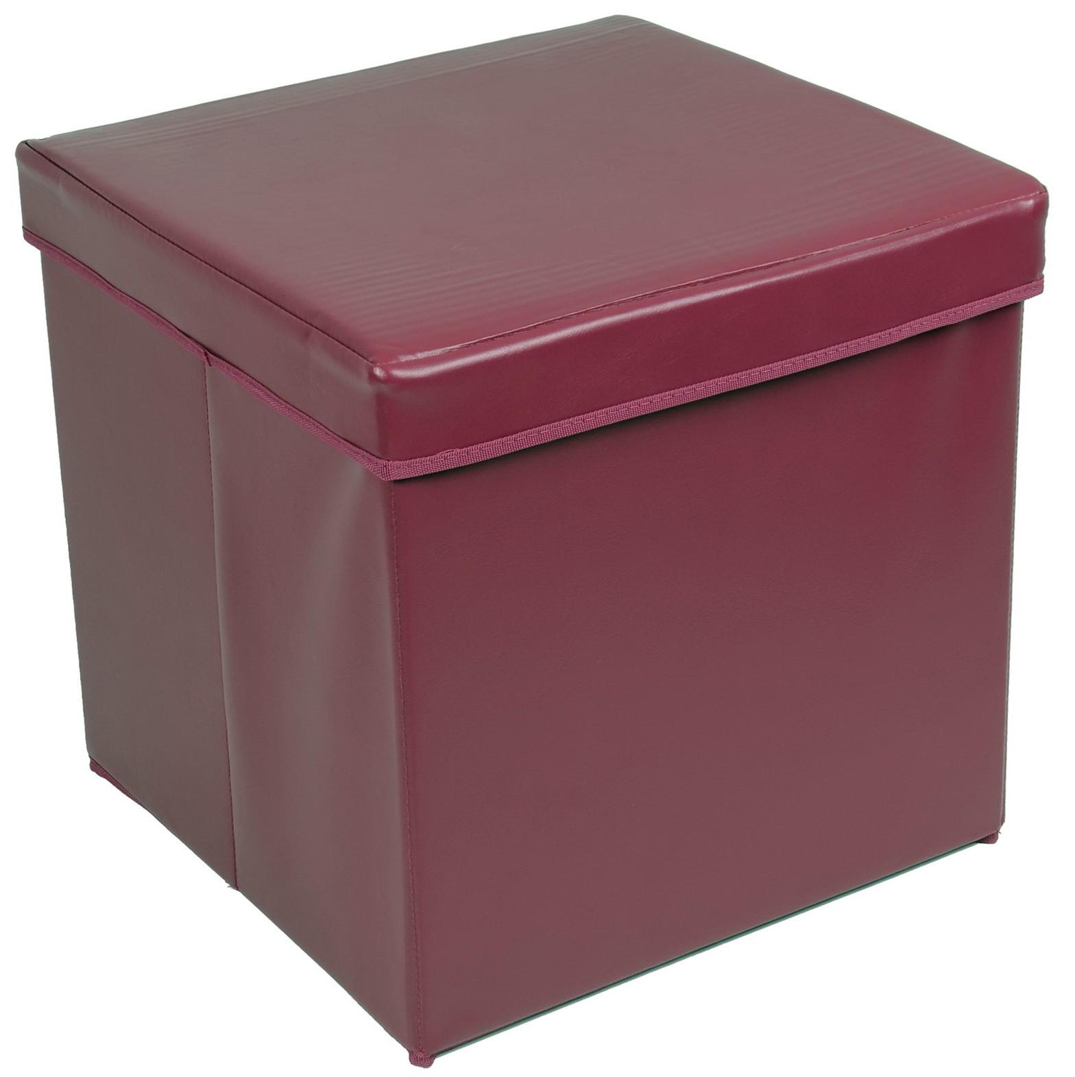 Best ideas about DIY Storage Ottoman Cube . Save or Pin Diy Storage Cube Ottoman Now.
