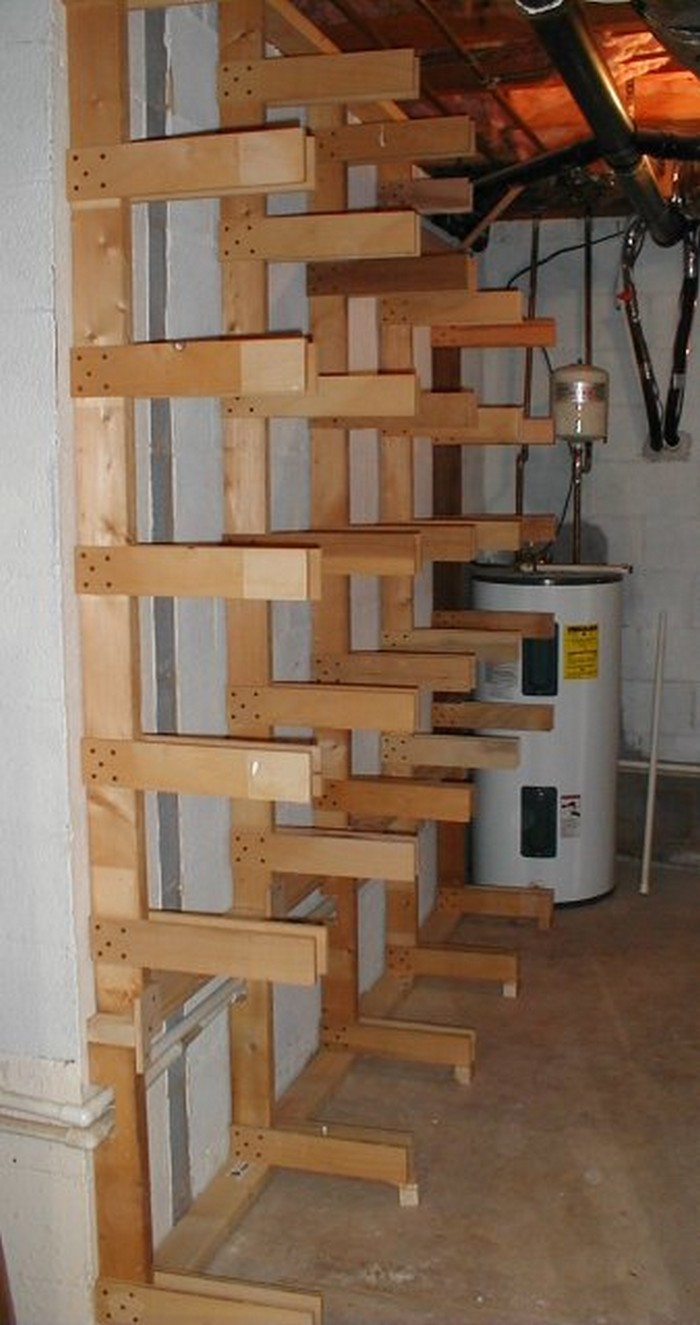 Best ideas about DIY Storage Rack . Save or Pin Build your own portable lumber rack – Your Projects OBN Now.
