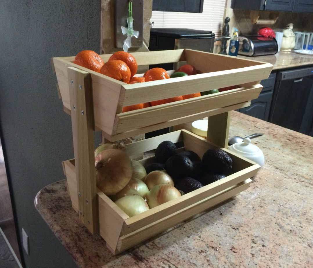 Best ideas about DIY Storage Rack . Save or Pin DIY Veggie Fruit Stroage Rack Wilker Do s Now.