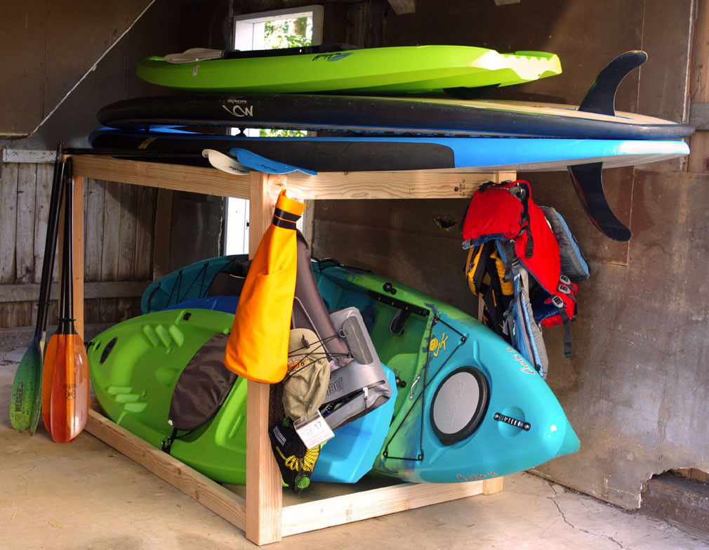 Best ideas about DIY Storage Rack . Save or Pin Kayak and SUP Storage Rack A Simple DIY Project Create Now.