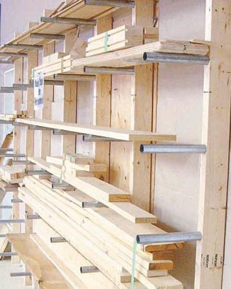 Best ideas about DIY Storage Rack . Save or Pin Lumber Rack Workshop Now.