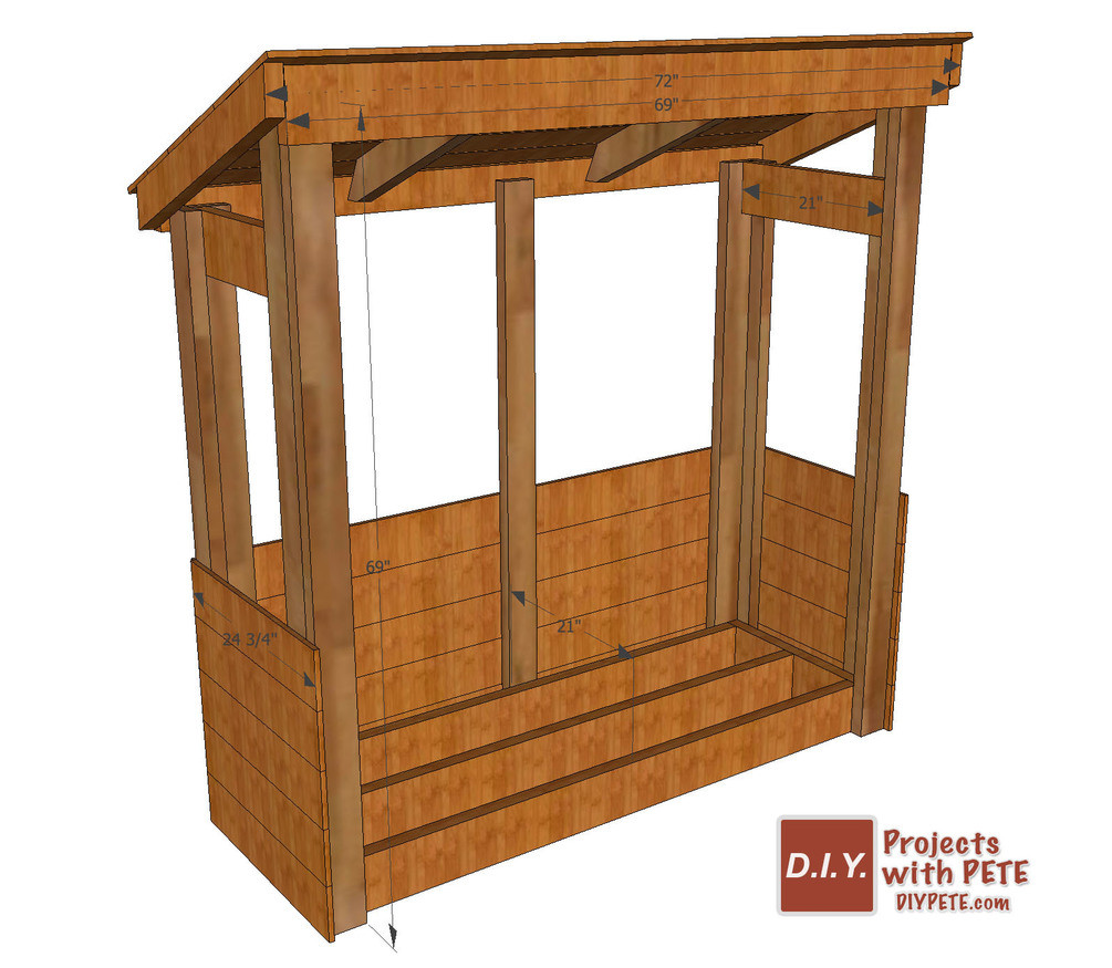 Best ideas about DIY Storage Rack . Save or Pin DIY Firewood Storage Rack Plans Now.