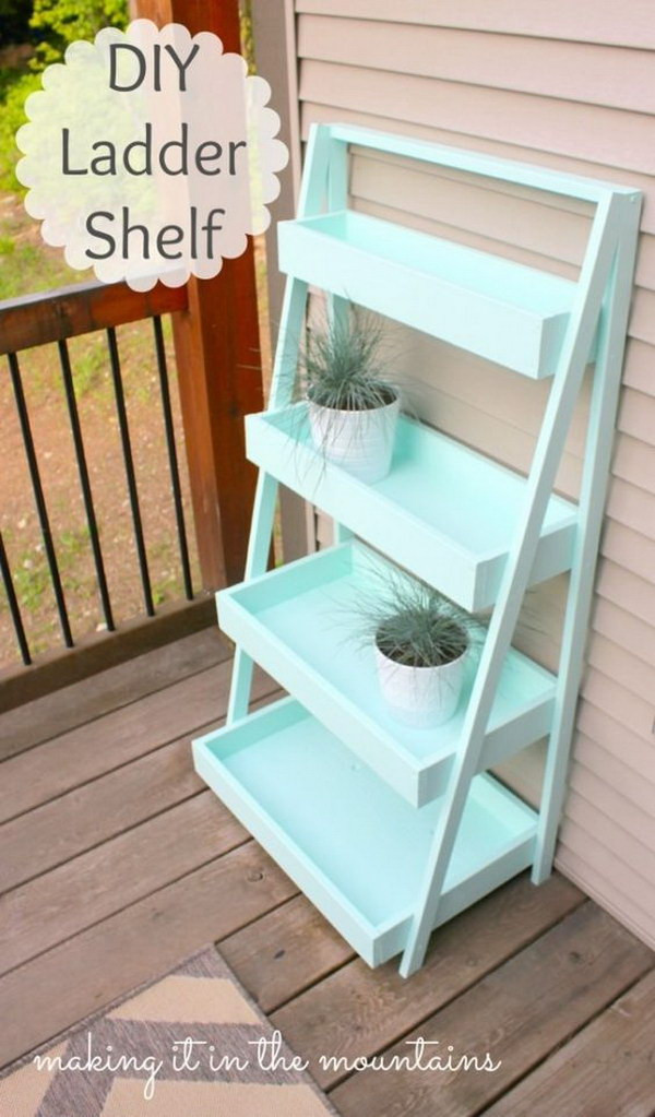 Best ideas about DIY Storage Shelf Plans . Save or Pin 20 Stylish DIY Shelves With Lots of Tutorials Noted List Now.