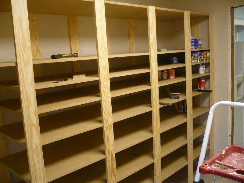 Best ideas about DIY Storage Shelf Plans . Save or Pin Food storage shelves I havent seen any DIY plans Now.