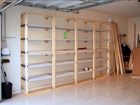 Best ideas about DIY Storage Shelf Plans . Save or Pin 20 DIY Garage Shelving Ideas Now.