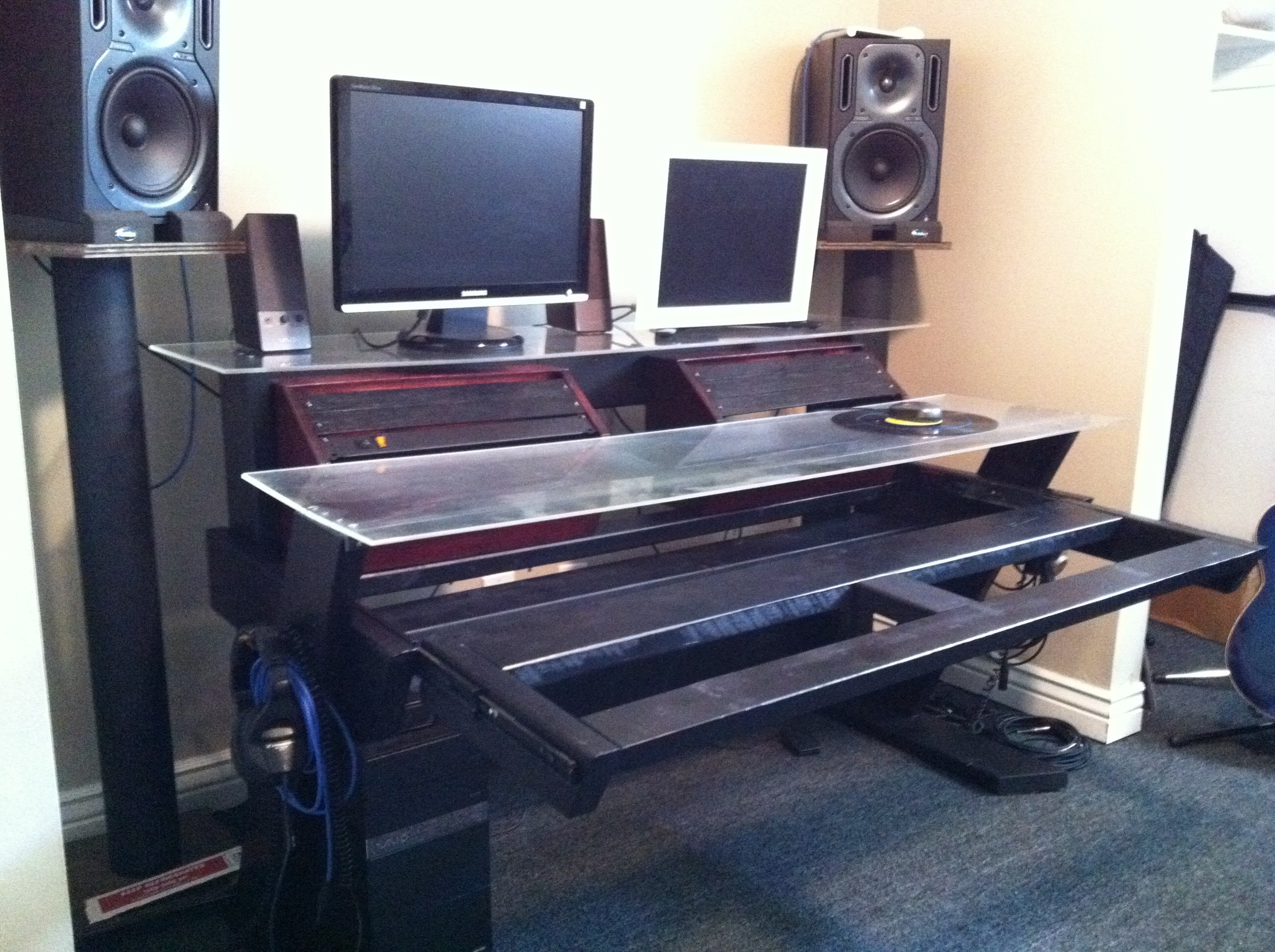 Best ideas about DIY Studio Desks . Save or Pin DIY Studio Desk Keyboard Workstation under $100 Page 3 Now.