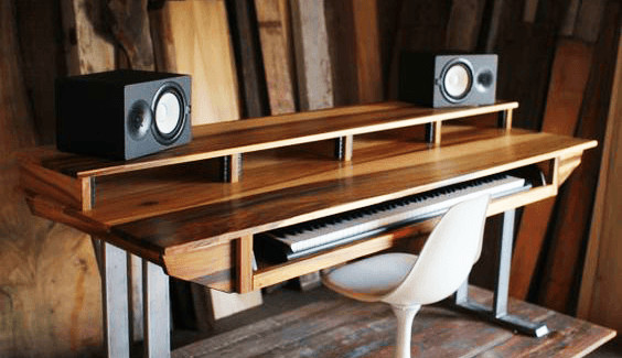 Best ideas about DIY Studio Desks . Save or Pin DIY Studio Desk Plans Custom Fit For Your Needs Now.