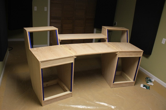 Best ideas about DIY Studio Desks . Save or Pin My DIY Studio Desk Build Gearslutz Pro Audio munity Now.