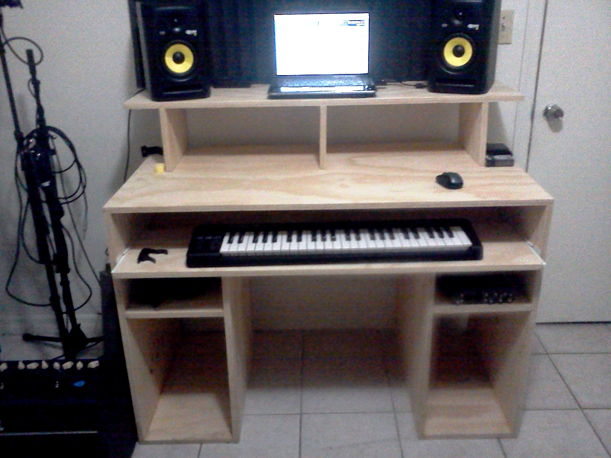 Best ideas about DIY Studio Desks . Save or Pin My DIY Recording Studio Desk Gearslutz Pro Audio munity Now.