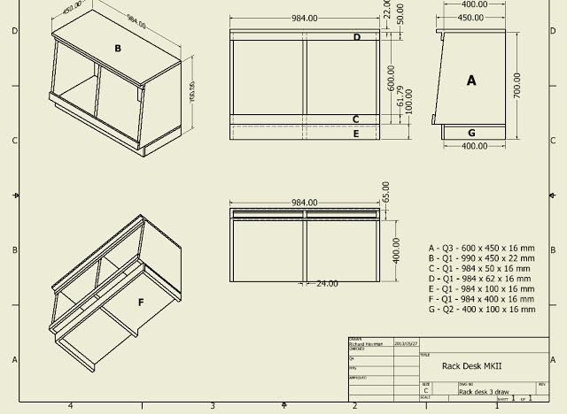Best ideas about DIY Studio Rack Plans . Save or Pin D I Y Pro Audio Studio pact Rack Desk Plans Now.