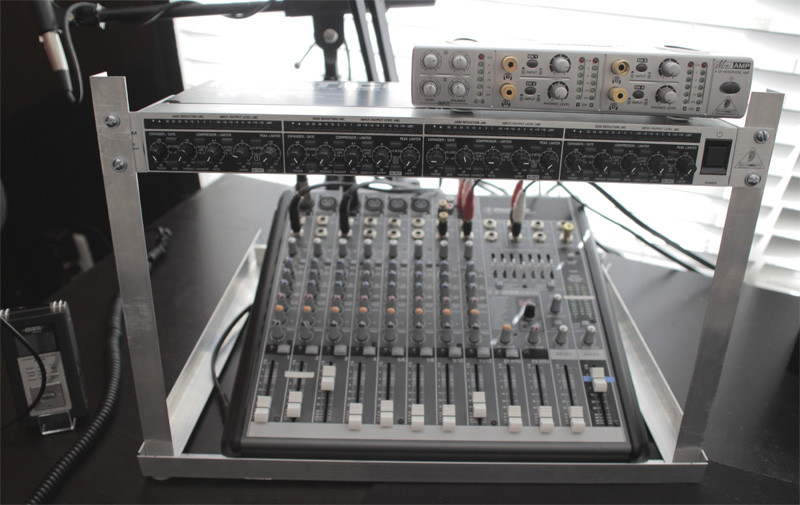 Best ideas about DIY Studio Rack Plans . Save or Pin DIY Desktop Rack Mount for Podcasting – Podcasters Studio Now.
