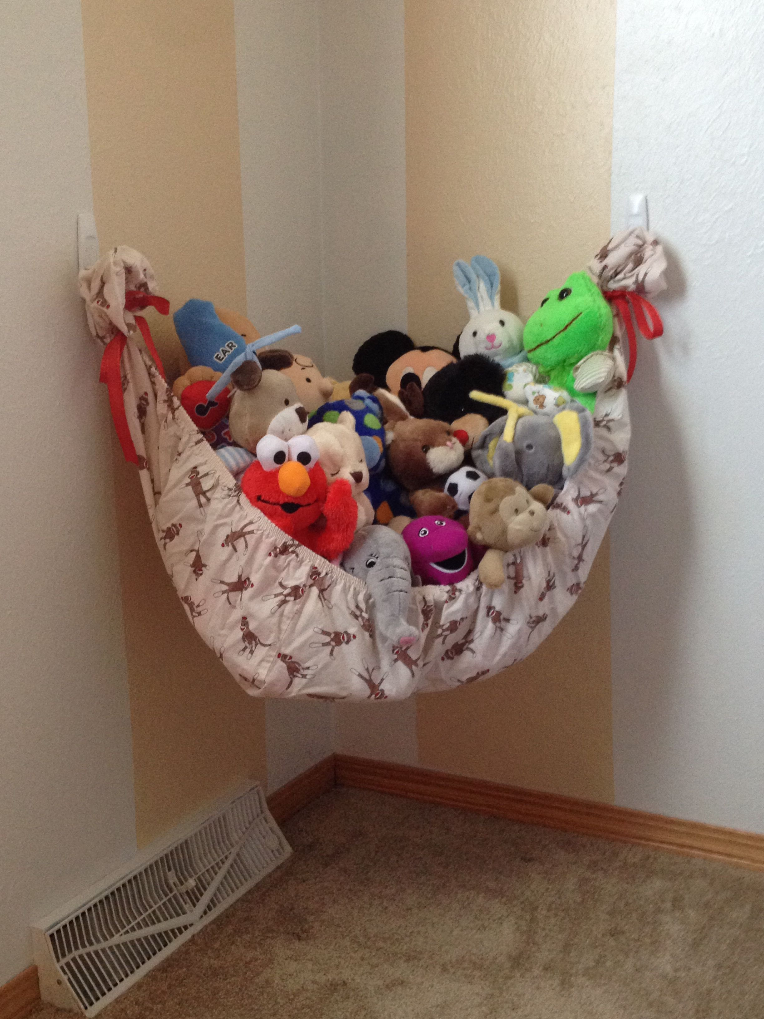 Best ideas about DIY Stuffed Animal . Save or Pin Do It Yourself Stuffed Animal Hammock Now.