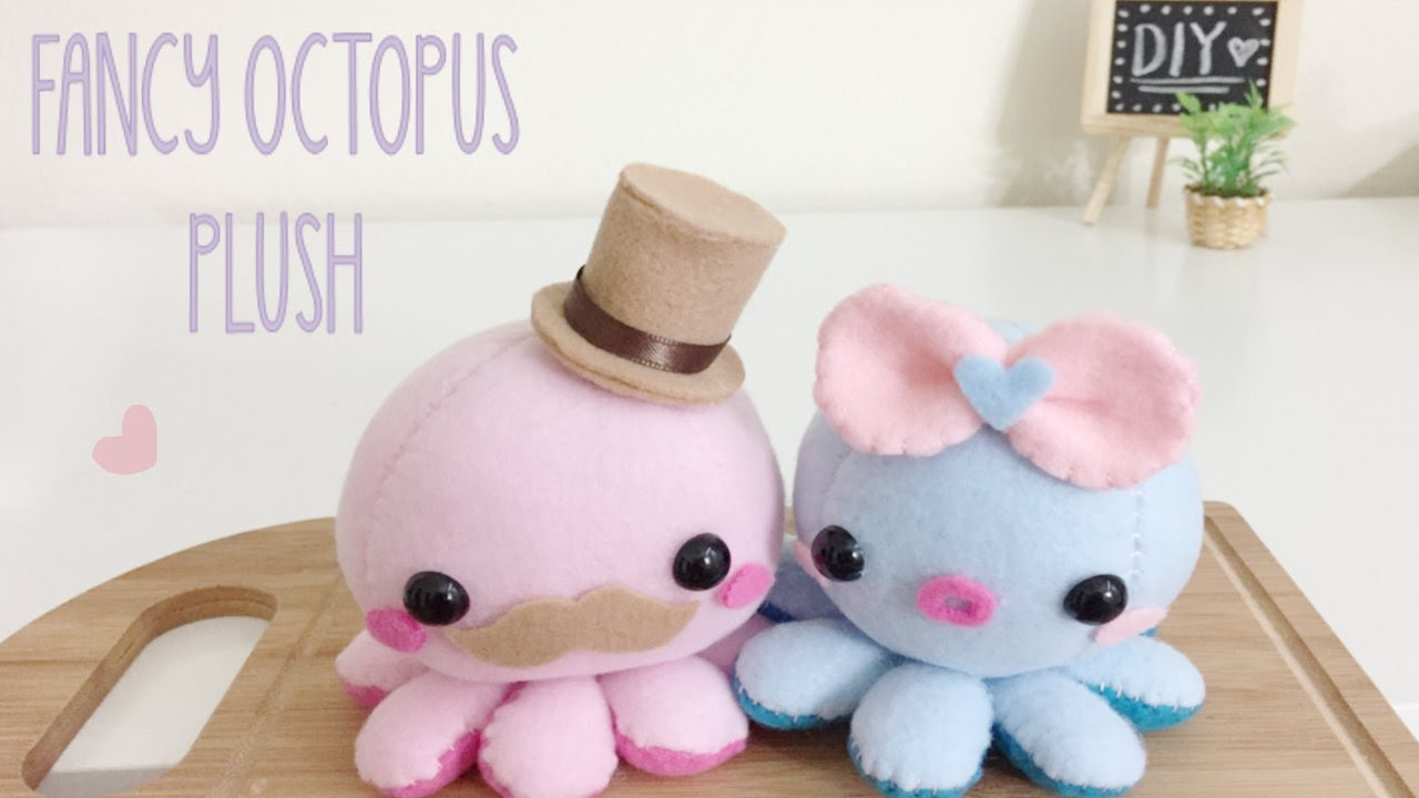 Best ideas about DIY Stuffed Animal . Save or Pin DIY Octopus Fancy Plush Tutorial Now.
