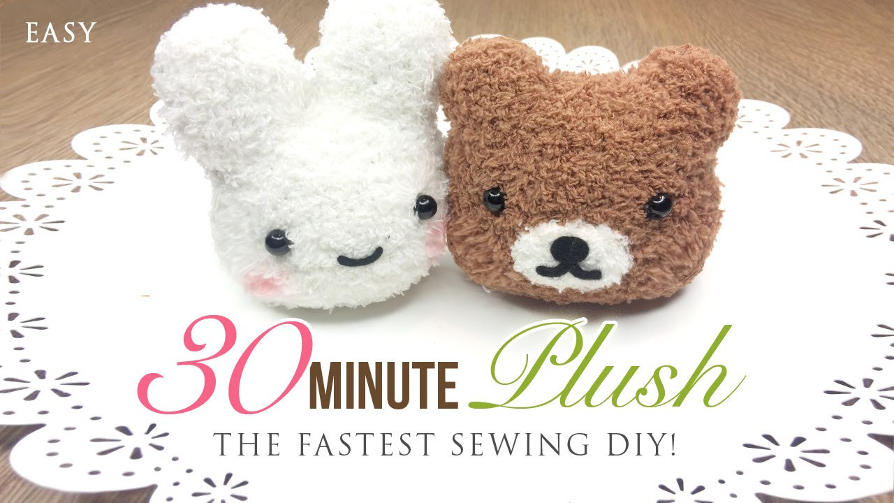 Best ideas about DIY Stuffed Animal . Save or Pin The Fastest Plushie DIY Ever Make an adorable toy in Now.