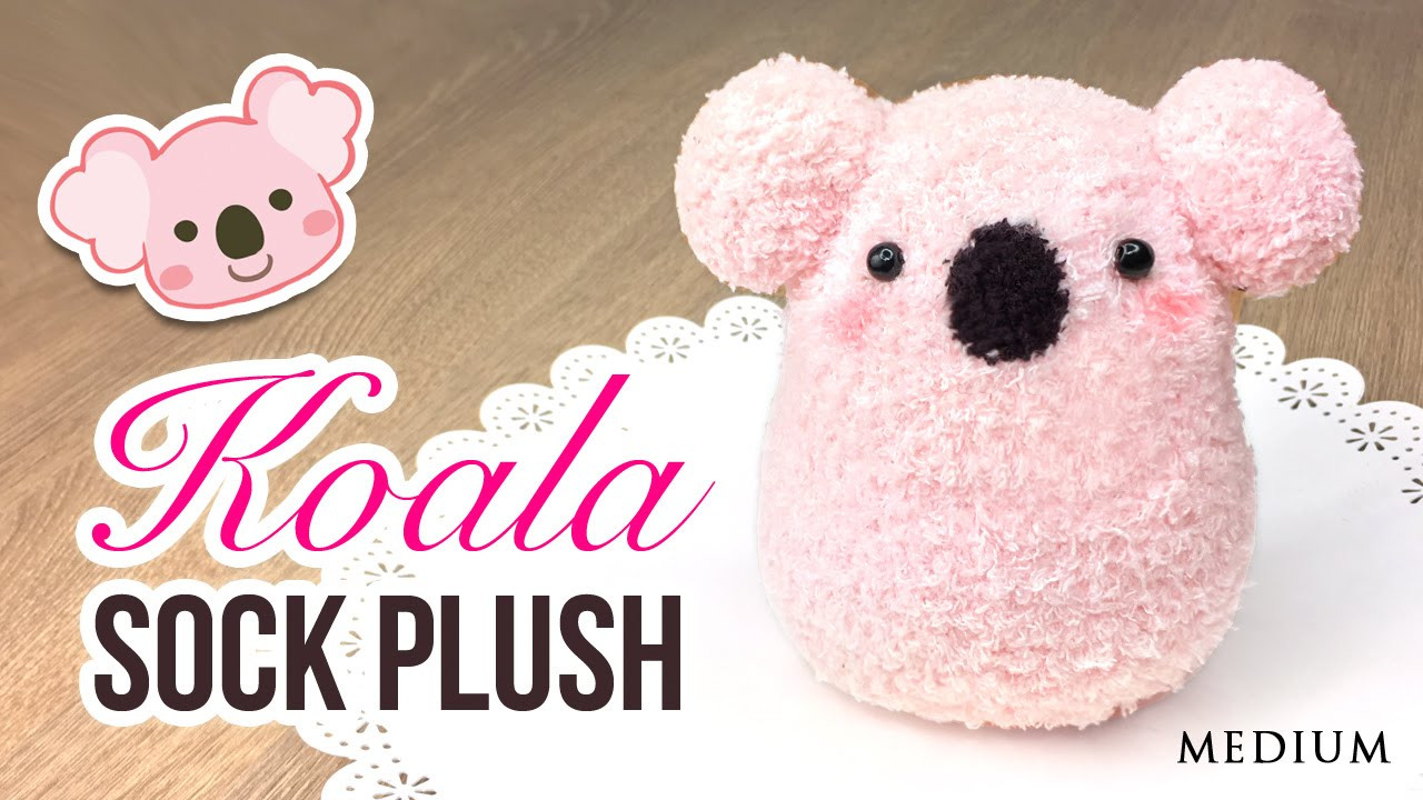 Best ideas about DIY Stuffed Animal . Save or Pin DIY Koala Plush Make a Cute DIY Toy using Socks Now.
