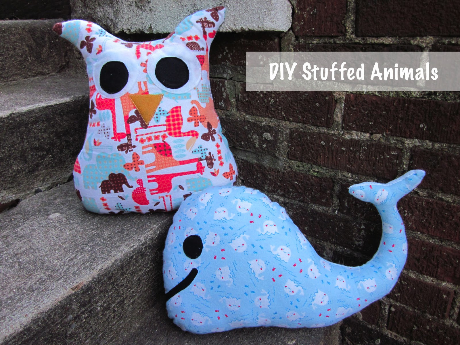 Best ideas about DIY Stuffed Animal . Save or Pin Creations by Bonnybee DIY stuffed animals Now.