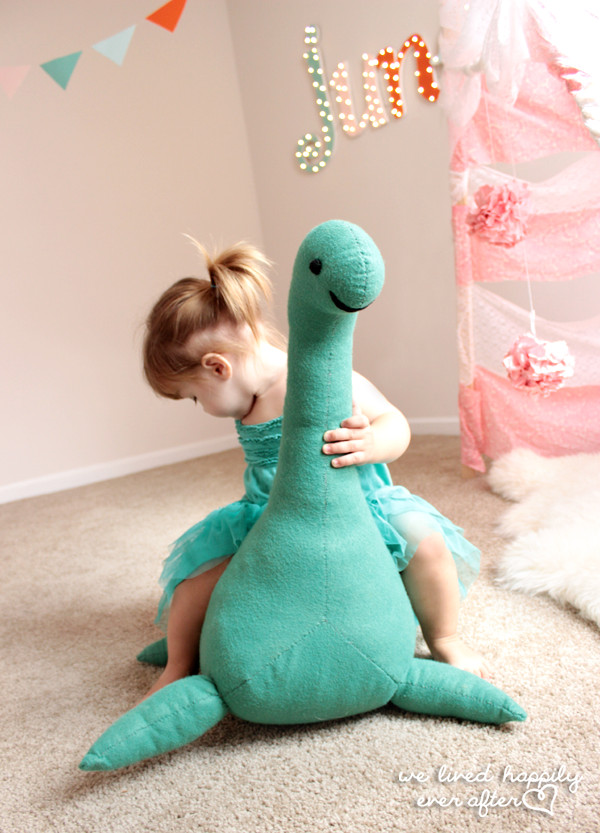 Best ideas about DIY Stuffed Animal . Save or Pin We Lived Happily Ever After DIY Nessie Now.