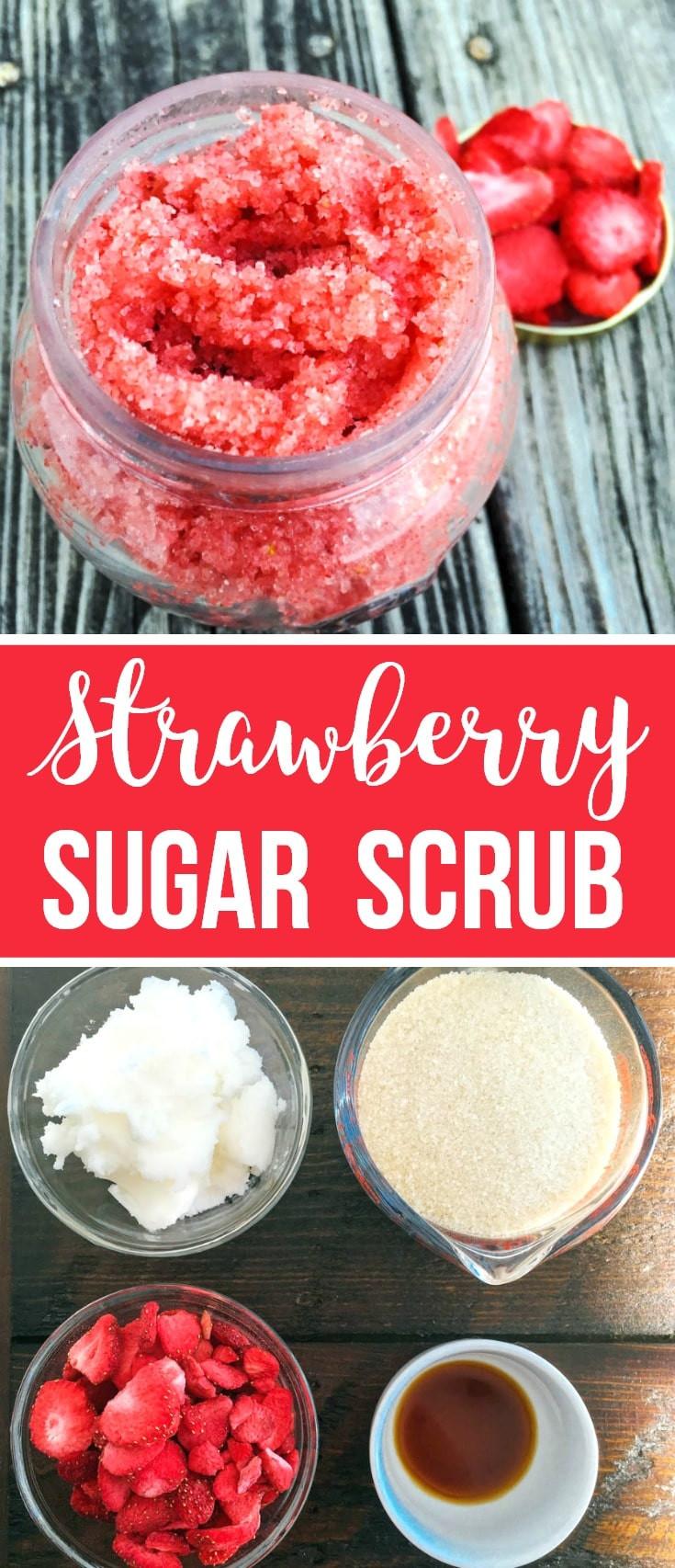 Best ideas about DIY Sugar Scrub . Save or Pin DIY Strawberry Sugar Scrub Now.