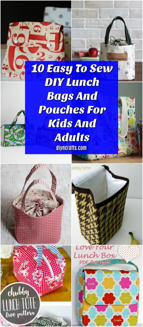 Best ideas about DIY Super Insulated Cooler . Save or Pin 10 Easy To Sew DIY Lunch Bags And Pouches For Kids And Now.