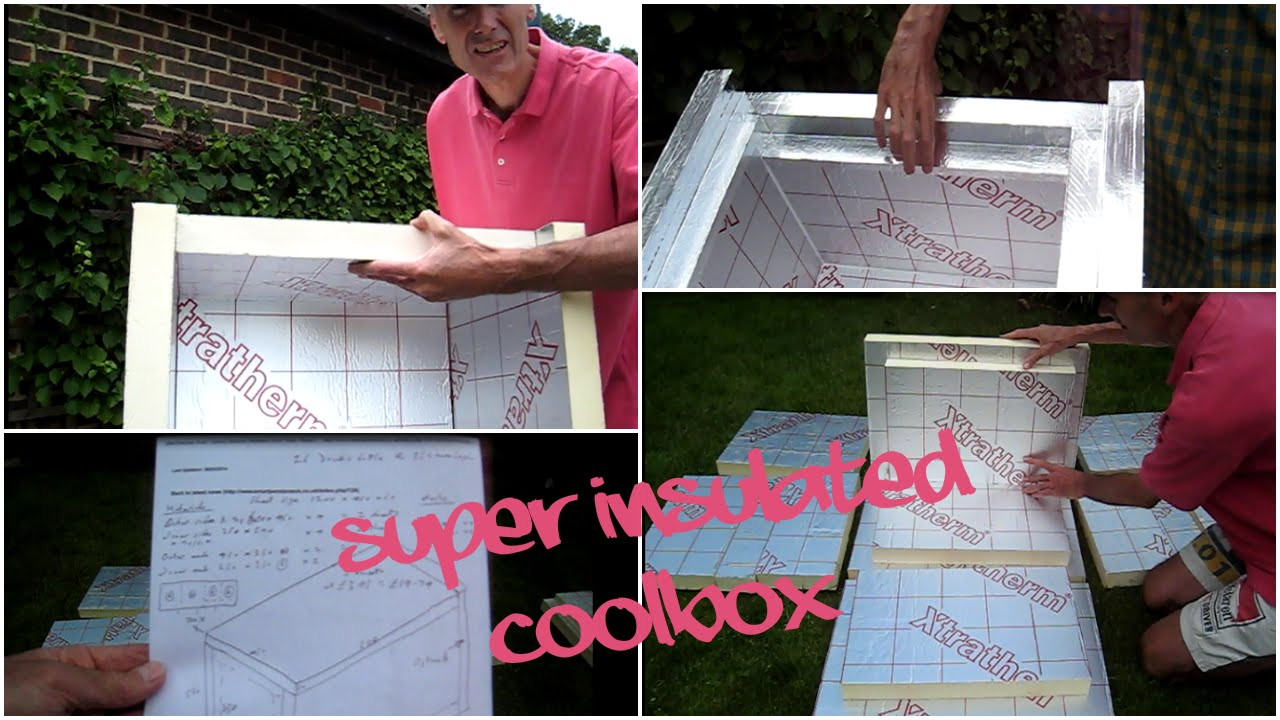 Best ideas about DIY Super Insulated Cooler . Save or Pin Build your own super cool box NEW ORIGINAL DESIGN part Now.