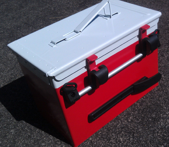Best ideas about DIY Super Insulated Cooler . Save or Pin Ammo Can Bike Cooler BikeHacks Now.