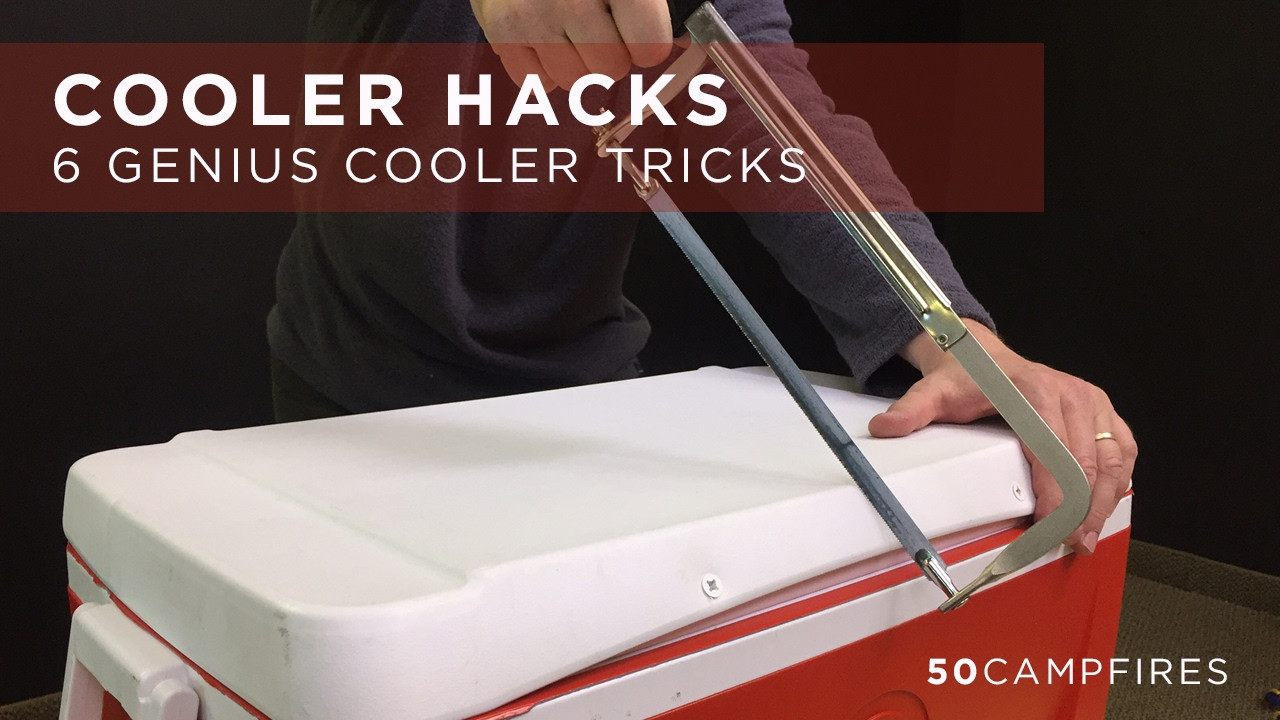 Best ideas about DIY Super Insulated Cooler . Save or Pin 6 Genius Cooler Hacks Now.