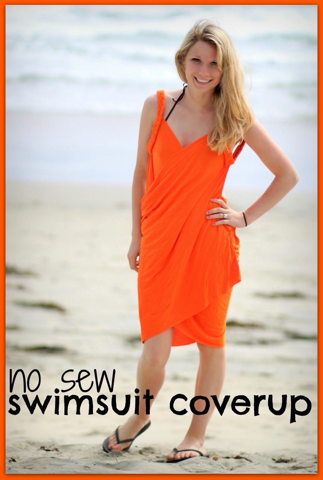Best ideas about DIY Swimsuit Cover Ups . Save or Pin watch out for the woestmans No Sew Easy Swimsuit Cover Up Now.