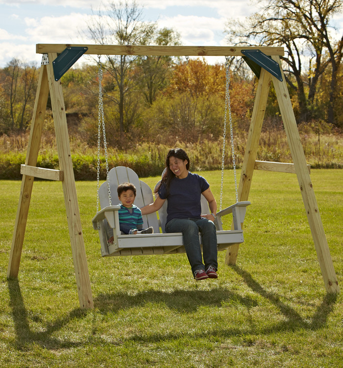 Best ideas about DIY Swing Frame . Save or Pin e Hour A Frame Swing Set with Easy to Use Plans Now.