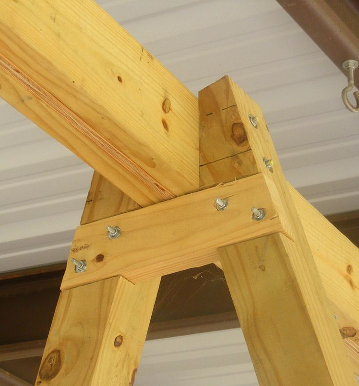 Best ideas about DIY Swing Frame . Save or Pin building a tall swing frame Porch Swing A Frame Now.