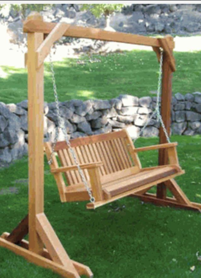 Best ideas about DIY Swing Frame . Save or Pin Looking for someone to build a free standing swing frame Now.