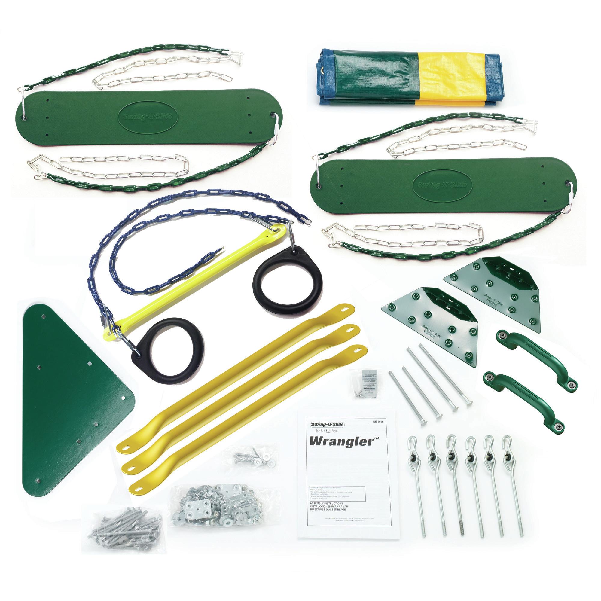 Best ideas about DIY Swing Set Hardware Kits . Save or Pin Swing n Slide Wrangler Custom DIY 12 Piece Swing Set Now.