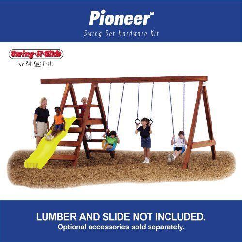 Best ideas about DIY Swing Set Hardware Kits . Save or Pin Pioneer Custom DIY Play Set Hardware Kit by Swing N Slide Now.