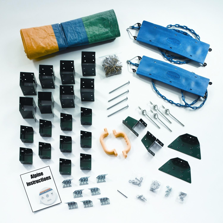 Best ideas about DIY Swing Set Hardware Kits . Save or Pin Ready to Build Custom Alpine DIY Swing Set Hardware Kit Now.