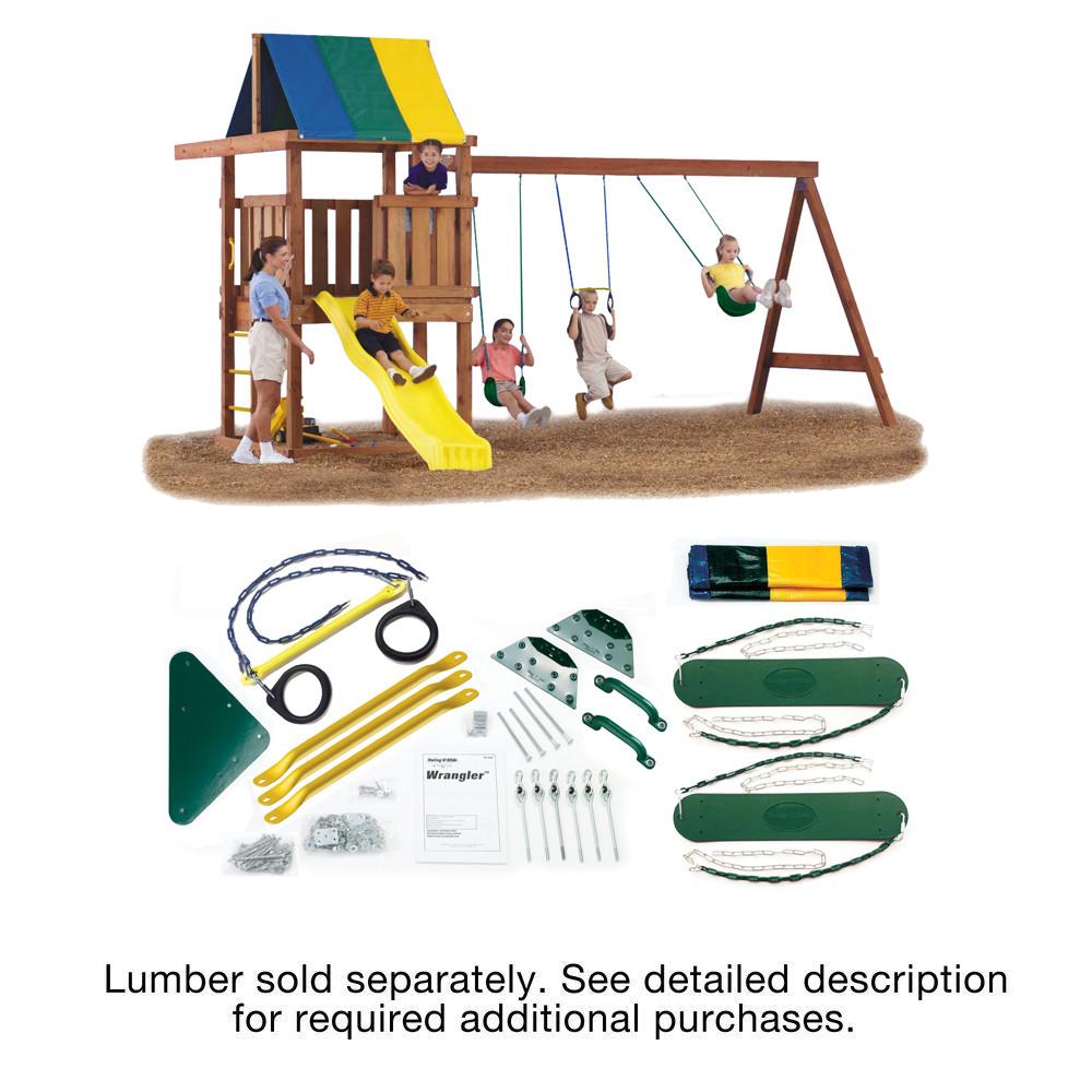 Best ideas about DIY Swing Set Hardware Kits . Save or Pin Swing N Slide Wrangler DIY Play Set Hardware Kit Wood and Now.