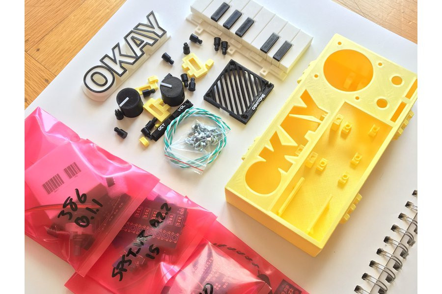 Best ideas about DIY Synthesizer Kits . Save or Pin Synth DIY Kit from oskitone on Tin Now.