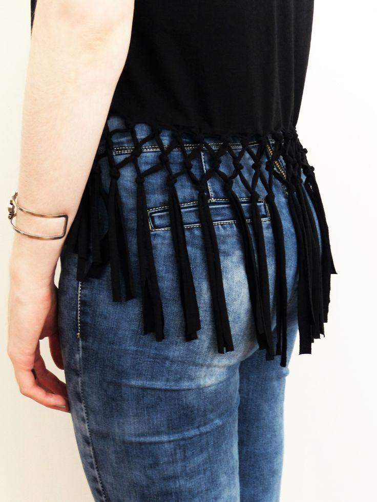 Best ideas about DIY T Shirt Cutting Ideas . Save or Pin 25 best ideas about T Shirt Reconstruction on Pinterest Now.