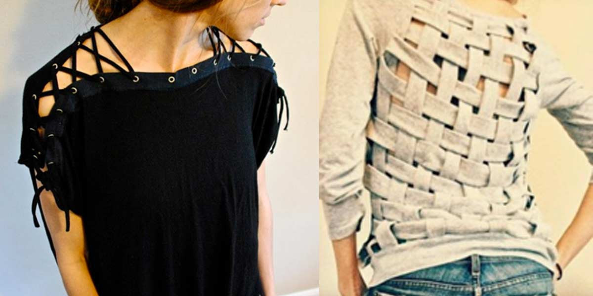 Best ideas about DIY T Shirt . Save or Pin 30 Awesome T Shirt DIYs Makeovers You Should Try Right Now Now.
