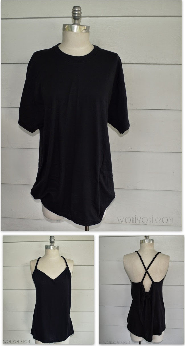 Best ideas about DIY T Shirt . Save or Pin WobiSobi Braided Back Tee 4 DIY Now.