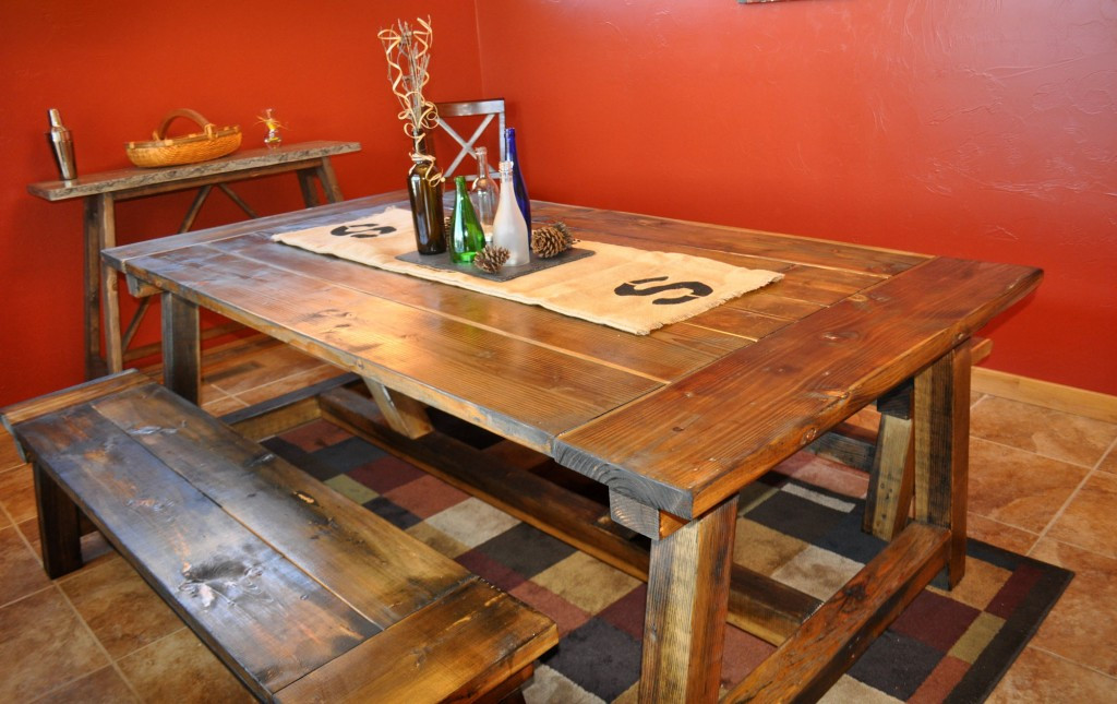 Best ideas about DIY Table Planners . Save or Pin How to Build a Farmhouse Table Now.