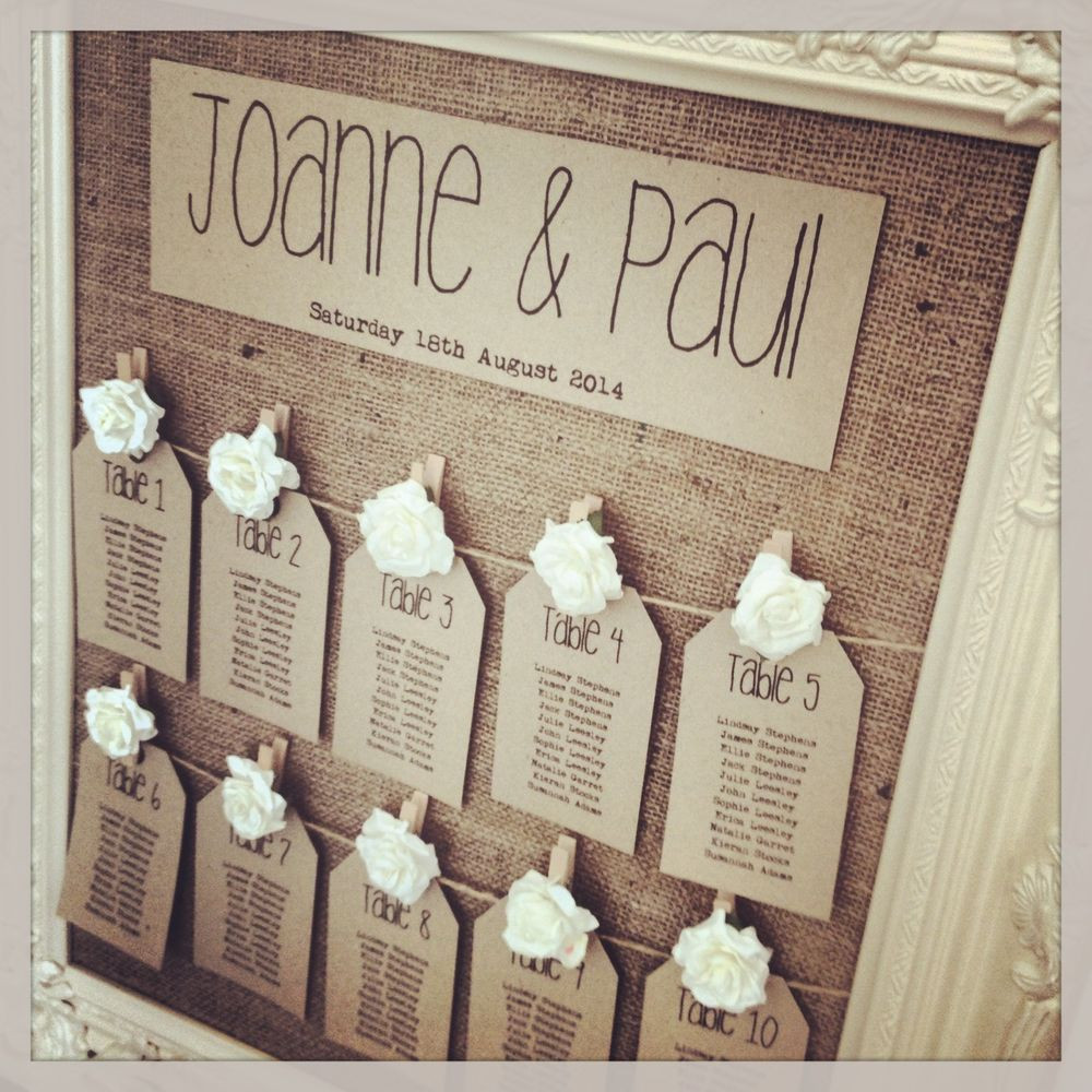 Best ideas about DIY Table Planners . Save or Pin Finishing Touches – Table Plan Inspiration Now.